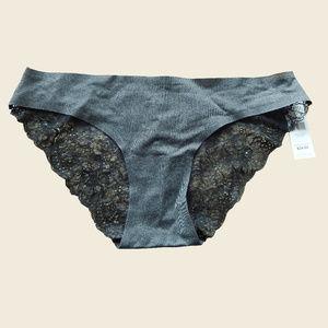 DANSKIN Cheeky Fit Lace Panties sz Medium M